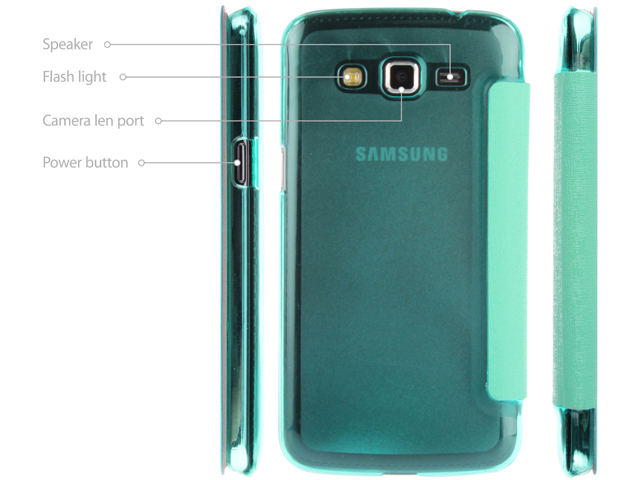 Samsung Galaxy Grand 2 Embossed Flip View Case