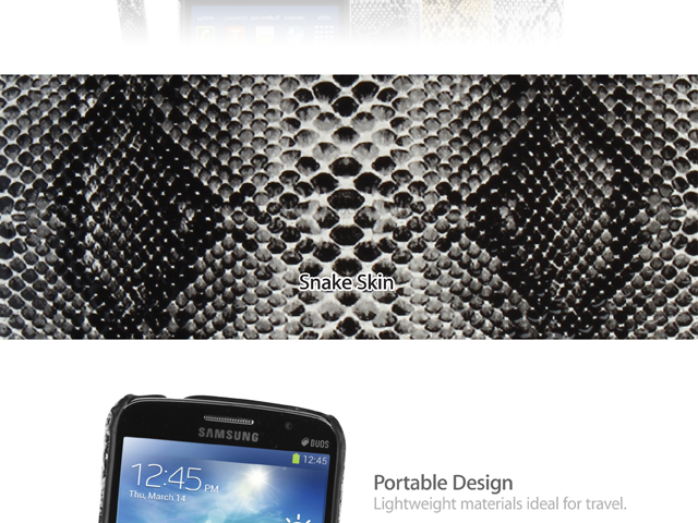 Samsung Galaxy Grand 2 Faux Snake Skin Back Case