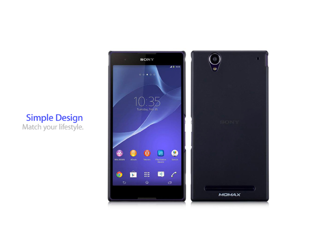Momax Ultra Thin - Clear touch for Sony Xperia T2 Ultra