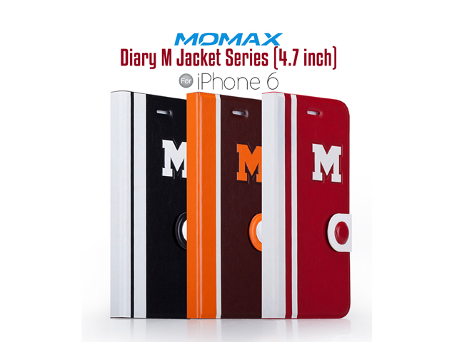 Momax Flip Diary M Jacket Series for iPhone 6 / 6s