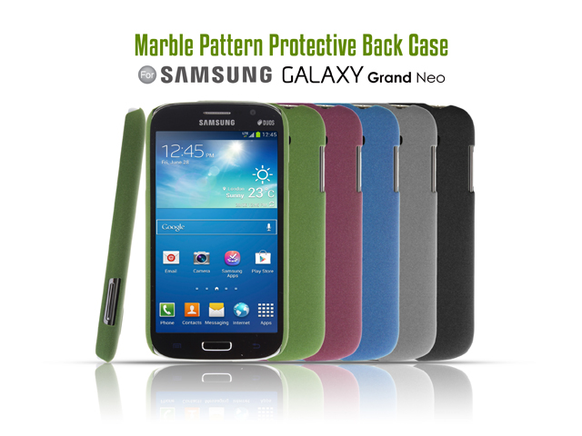 Samsung Galaxy Grand Neo Marble Pattern Protective Back Case