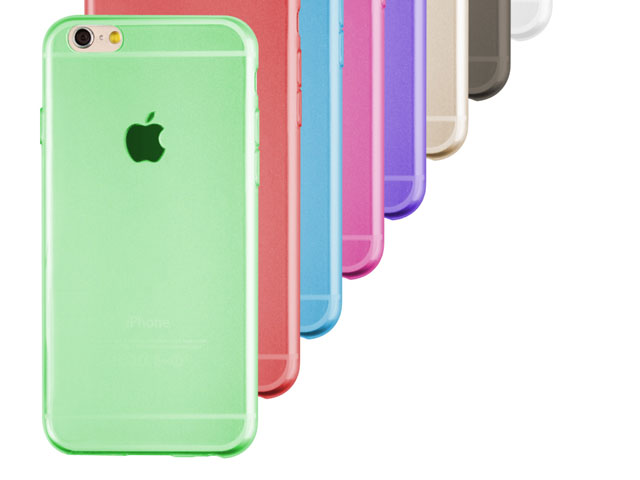 iPhone 6 / 6s Jelly Soft Plastic Case
