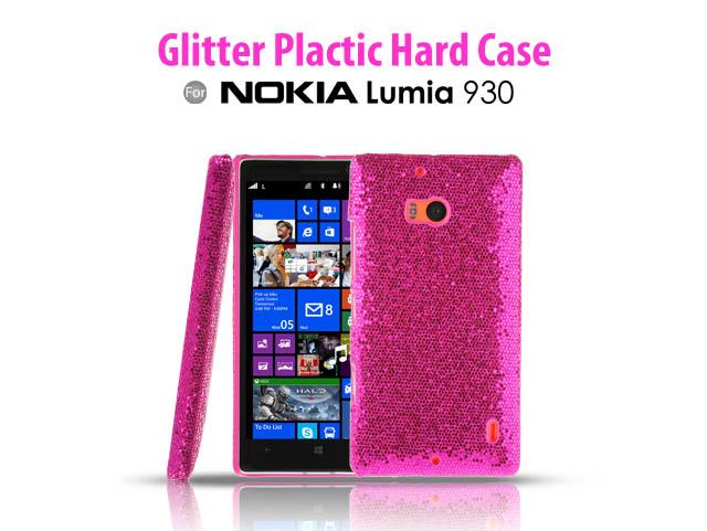 Nokia Lumia 930 Glitter Plactic Hard Case
