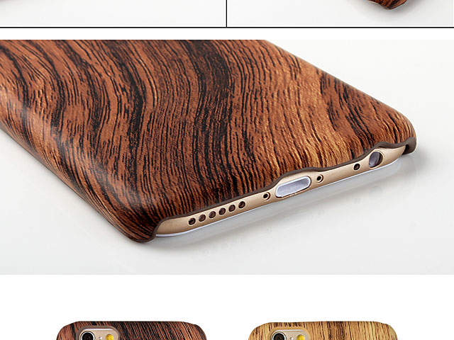 iPhone 6 / 6s Woody Patterned Back Case