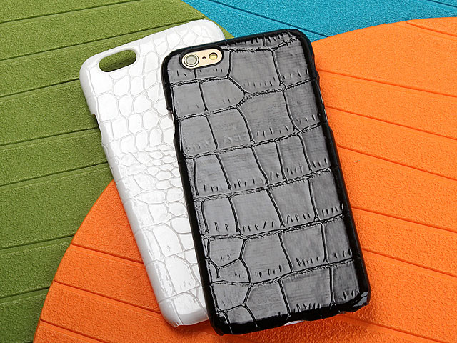 iPhone 6 / 6s Crocodile Leather Back Case