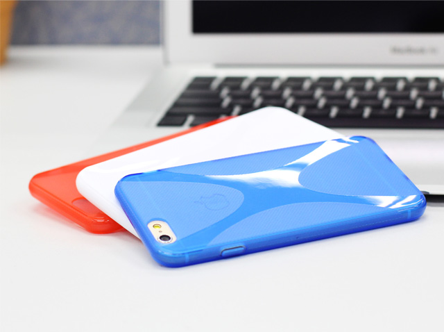iPhone 6 / 6s X-Shaped Plastic Back Case
