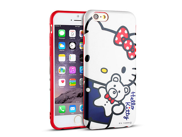 iPhone 6 Hello Kitty Soft Case  SAN-363A Iphone 6 Cases Hello Kitty
