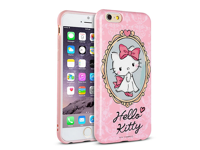 Replacement Car Keys >> iPhone 6 Hello Kitty Soft Case (SAN-363C)