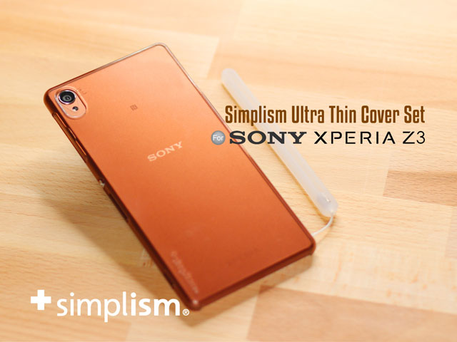 Simplism Ultra Thin Cover Set for Sony Xperia Z3