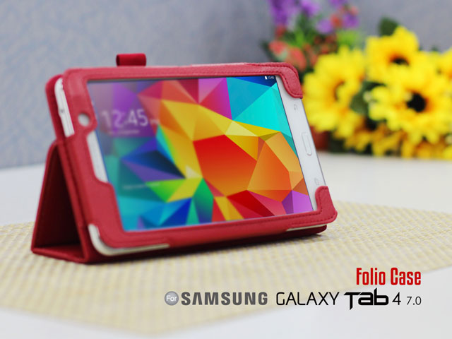 Folio Case For Samsung Galaxy Tab 4 7.0 (Side Open)