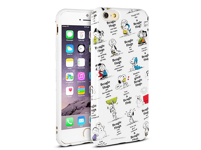 new product 252df 204b9 iPhone 6 Peanuts Snoopy Soft Case (SNG-87A)