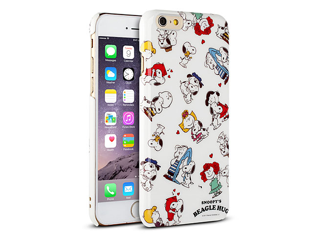 Iphone 6 peanuts snoopy hard case sng 88a