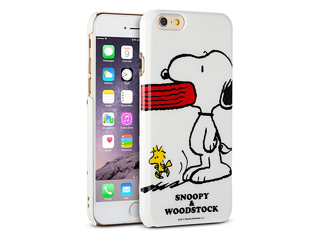 Iphone 6 peanuts snoopy hard case sng 88b