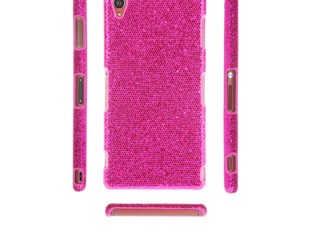 Sony Xperia Z3 Glitter Plactic Hard Case