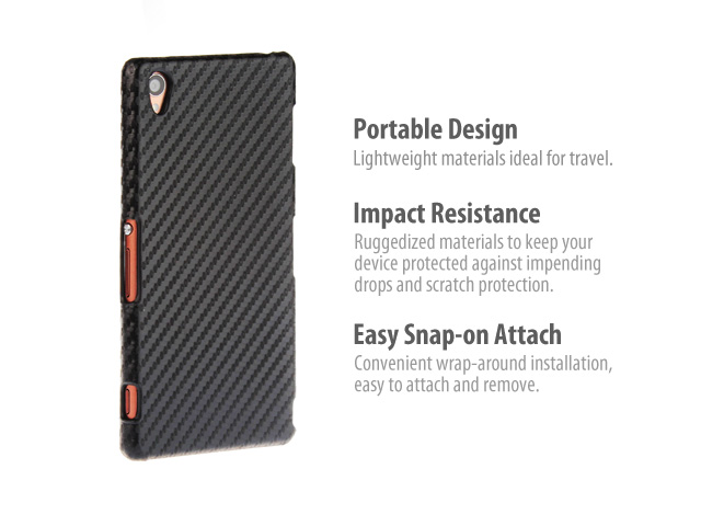 Sony Xperia Z3 Twilled Back Case