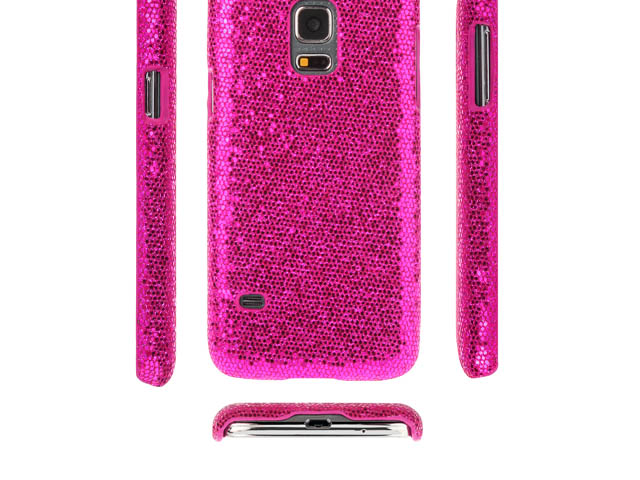 Samsung Galaxy S5 mini Glitter Plactic Hard Case