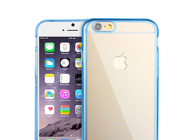 iPhone 6 / 6s Soft Case with Fluorescent Bumper