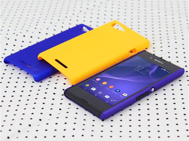 pretty nice bd719 d8825 Sony Xperia E3 Rubberized Back Hard Case