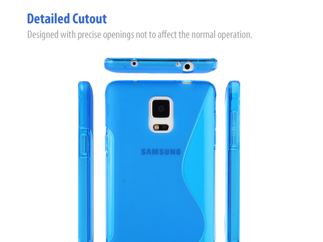 Samsung Galaxy Note 4 Wave Plastic Back Case