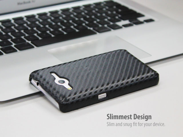 Samsung Galaxy Core 2 Twilled Back Case