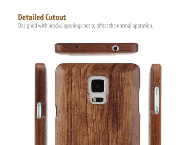 Samsung Galaxy Note 4 Woody Case
