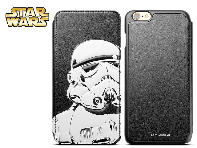cheap for discount 1e8a0 9d5cf iPhone 6 Plus / 6s Plus Star Wars - Stormtrooper Leather Flip Case