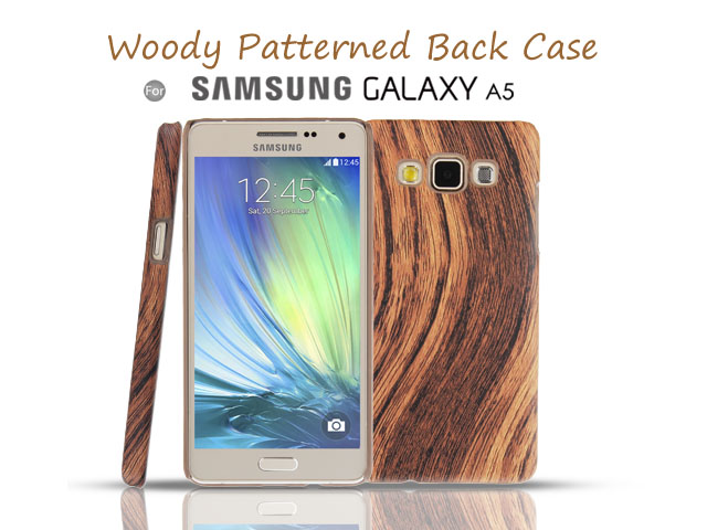 Samsung Galaxy A5 Woody Patterned Back Case