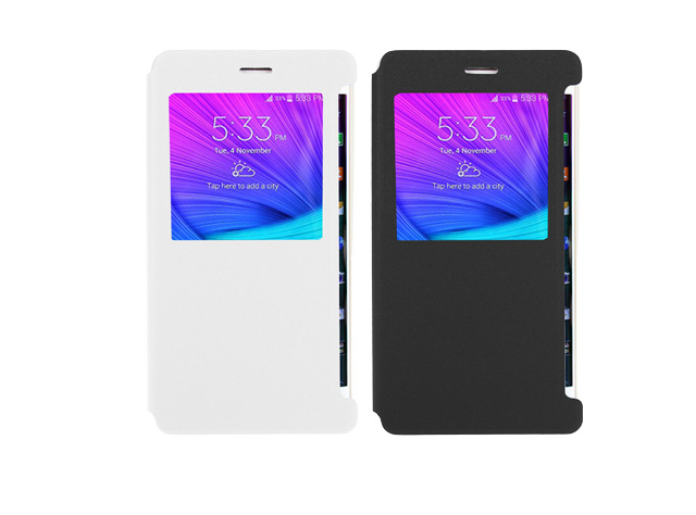 Bright Flip View Case for Samsung Galaxy Note Edge