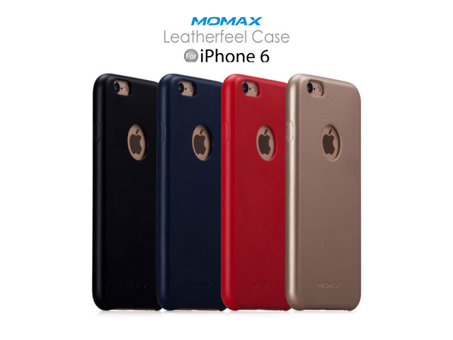 Momax iPhone 6 / 6s Leatherfeel Case