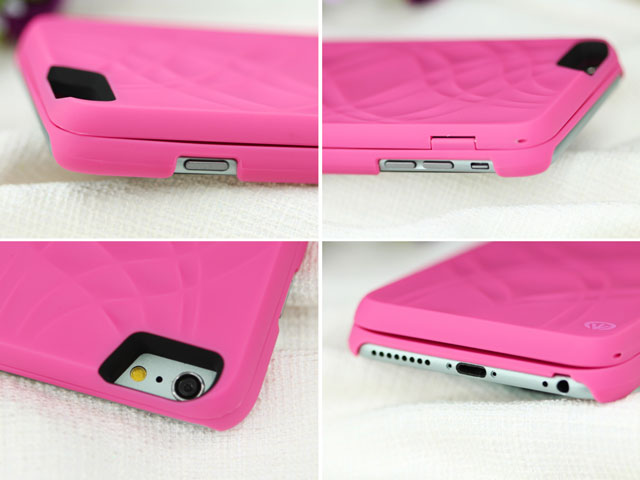 Iphone 6 Plus Mirror Card Holder Back Case