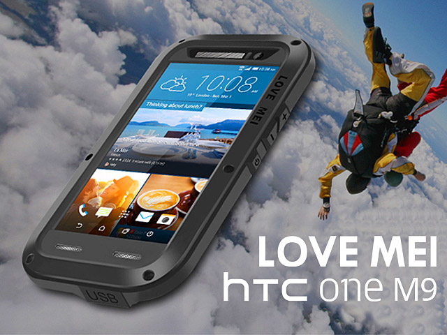 huge selection of 4a601 cecd5 LOVE MEI HTC One M9 Powerful Bumper Case