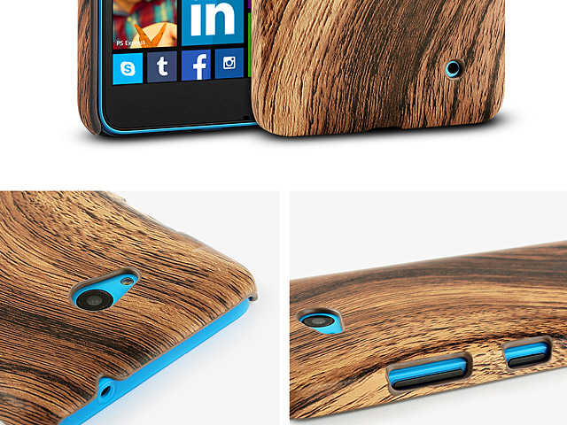 Microsoft Lumia 640 LTE Woody Patterned Back Case