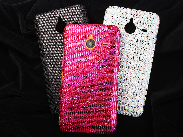 newest 3b637 52668 Microsoft Lumia 640 XL Glitter Plastic Hard Case
