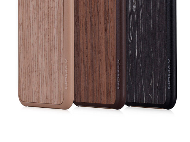 Momax Feel & Touch Wood Grain Case for iPhone 6 / 6s