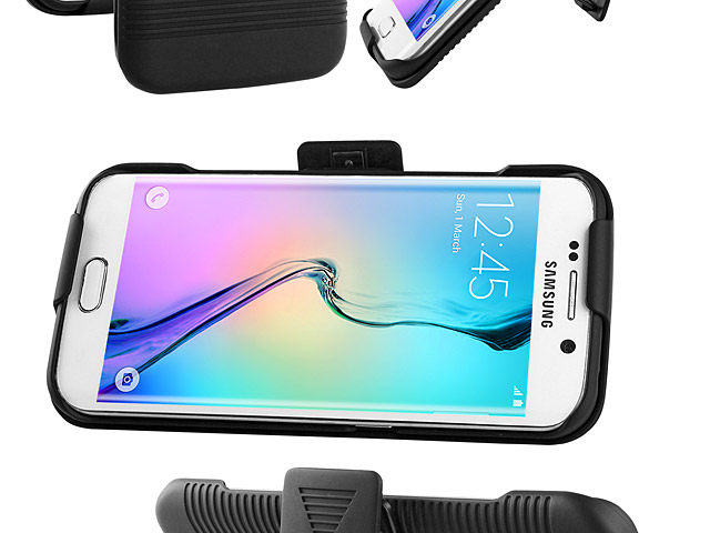 Samsung Galaxy S6 edge Protective Case with Holster