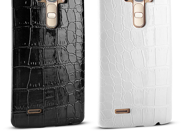 LG G4 Crocodile Leather Back Case