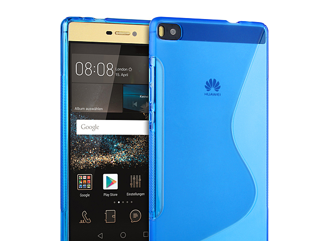 Huawei P8 Wave Plastic Back Case