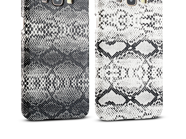 Samsung Galaxy A8 Faux Snake Skin Back Case