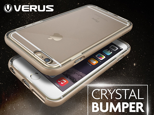 the best attitude 480a5 f9a7f Verus Crystal Bumper Case for iPhone 6 / 6s