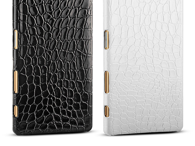 Sony Xperia Z5 Crocodile Leather Back Case
