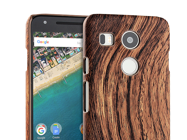 Google Nexus 5X Woody Patterned Back Case