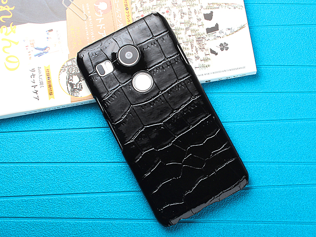 Google Nexus 5X Crocodile Leather Back Case