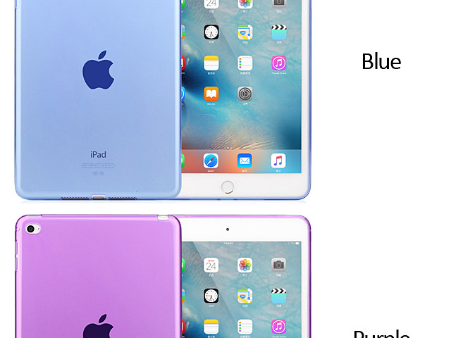 iPad mini 4 TPU Soft Back Case