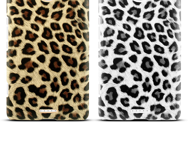 Microsoft Lumia 950 XL Leopard Stripe Back Case