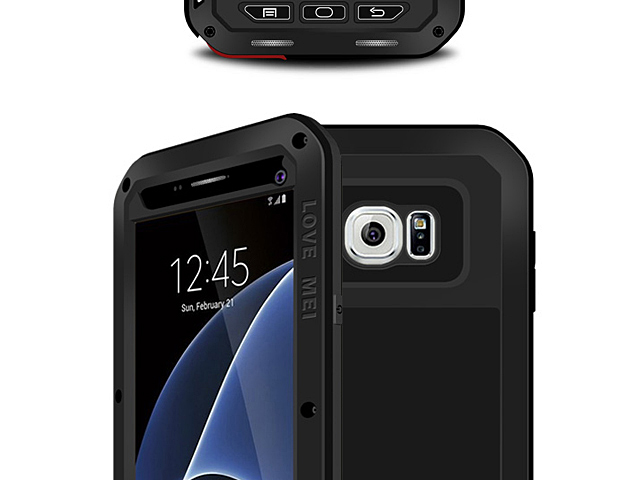 LOVE MEI Samsung Galaxy S7 Powerful Bumper Case