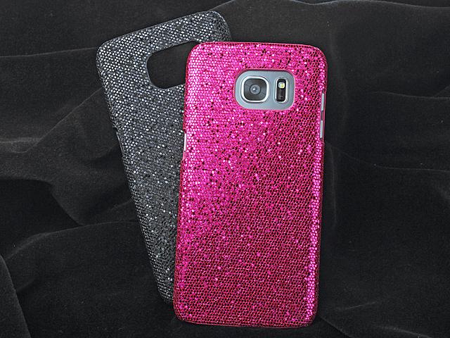 47f1a1a9ad10 Samsung Galaxy S7 edge Glitter Plastic Hard Case