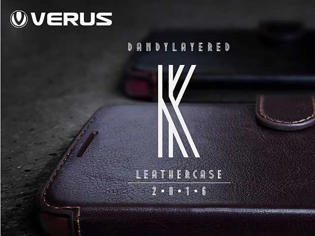 Verus Dandy Layered K Leather Case for Samsung Galaxy S7
