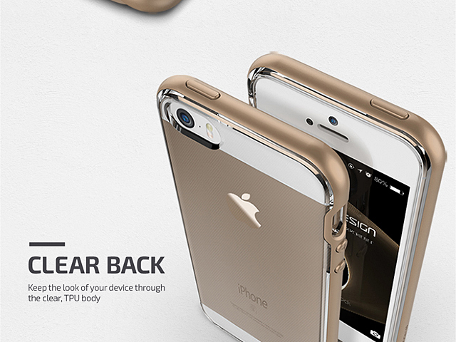 new product 8d346 e3aab Verus Crystal Bumper Case for iPhone SE