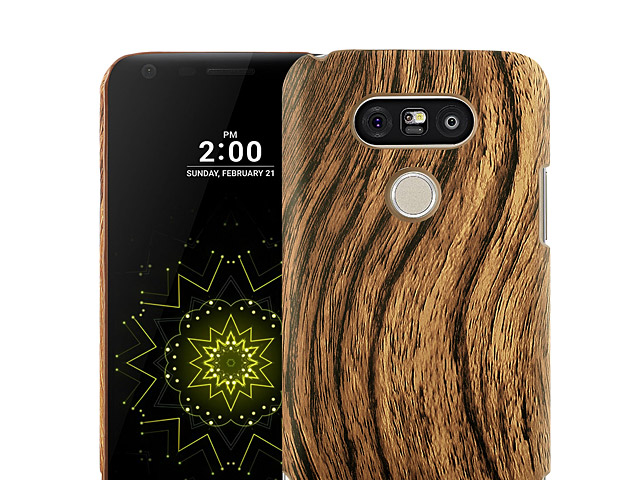 LG G5 Woody Patterned Back Case