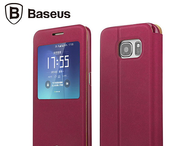 Baseus Flip Leather Case for Samsung Galaxy S7 edge